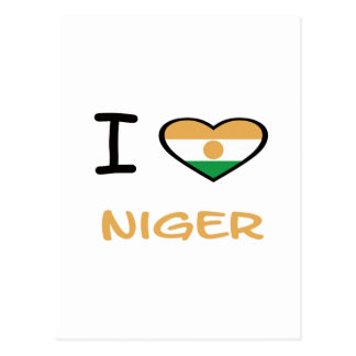 I Heart Niger Post Cards