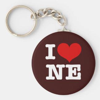 I Heart Northeast Minneapolis! Key Ring