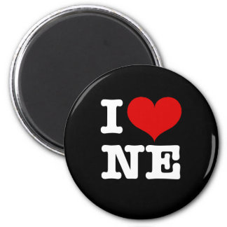 I Heart Northeast Minneapolis! 6 Cm Round Magnet