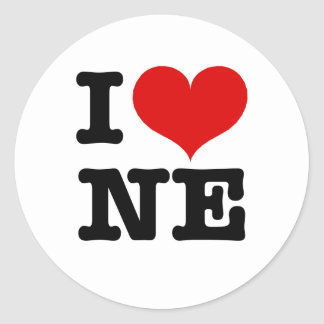 I Heart Northeast Minneapolis! Round Sticker