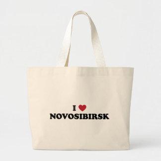 I Heart Novosibirsk Russia Bags