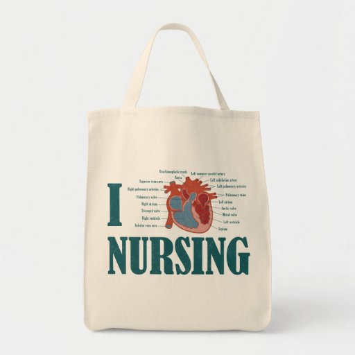 I Heart NURSING Bags