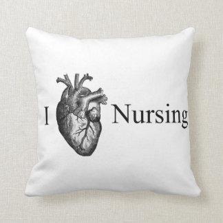 I Heart Nursing Cushion