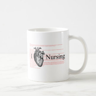 I Heart Nursing Coffee Mug