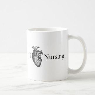I Heart Nursing Mugs