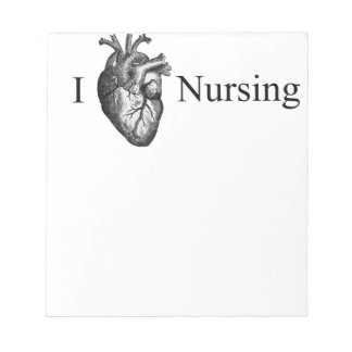 I Heart Nursing Notepads