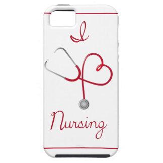 I Heart Nursing Phone Case iPhone 5 Cover