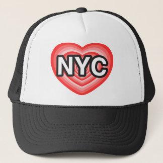 I heart NYC. I love NYC. New York City. I heart NY Trucker Hat