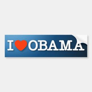 I (heart) Obama Bumper Sticker