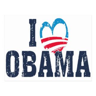 I Heart Obama Postcard