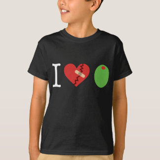 i heart olive JOIN THE FIGHT kid's t-shirt (black)