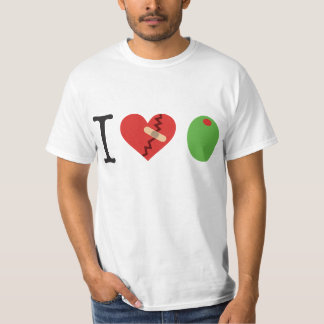 i heart olive JOIN THE FIGHT t-shirt (white)