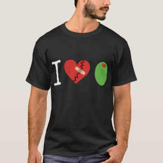 i heart olive t-shirt (black)
