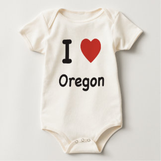 I Heart Oregon - Baby T-shirt