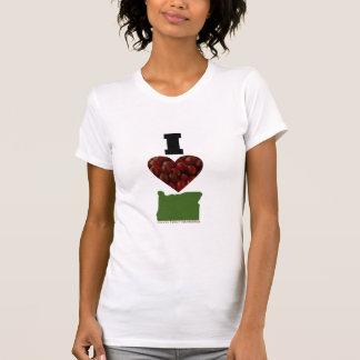 I Heart Oregon Cranberries T Shirt
