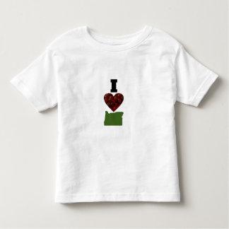 I Heart Oregon Cranberries Toddler T-Shirt