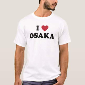 I Heart Osaka Japan T-Shirt