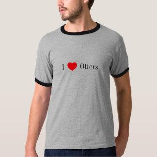 I heart Otters ringer T-Shirt