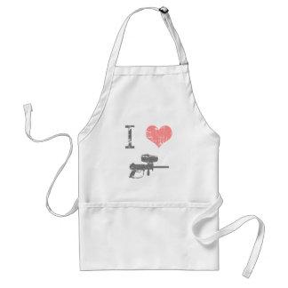 I Heart Paintballing Standard Apron