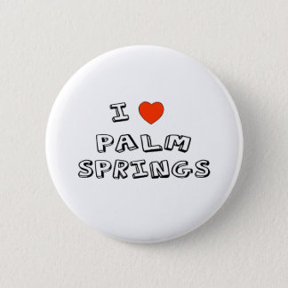 I Heart Palm Springs 6 Cm Round Badge