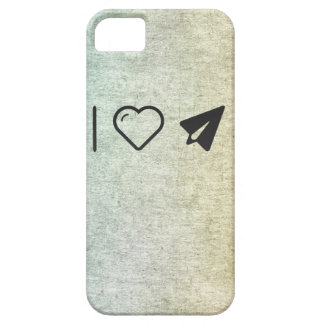 I Heart Paper Airplanes iPhone 5 Cases