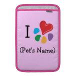 I Heart-Paw Love Pet's Name Template