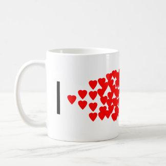 I heart PCR Basic White Mug