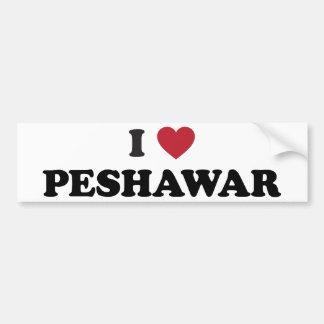I Heart Peshawar Pakistan Bumper Stickers