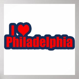 I Heart Philly Print