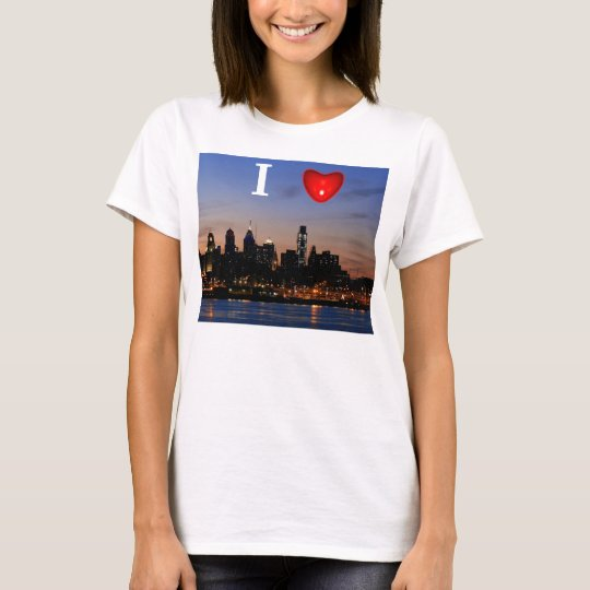 I Heart Philly Twilight Tee Shirt