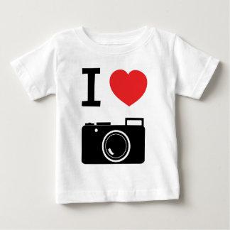 I HEART PHOTOGRAPHY BABY T-Shirt