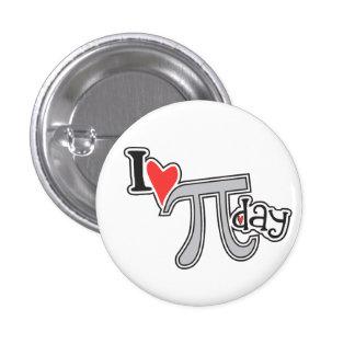 I heart Pi Day Button Pi Symbol Swag