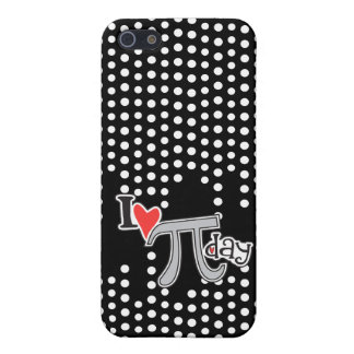 I heart Pi Day Case For iPhone 5/5S