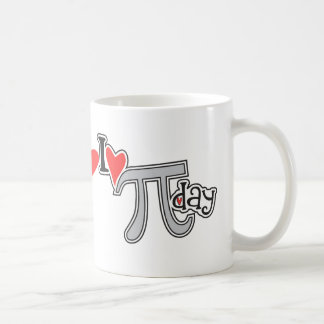 I heart Pi Day Coffee Mug