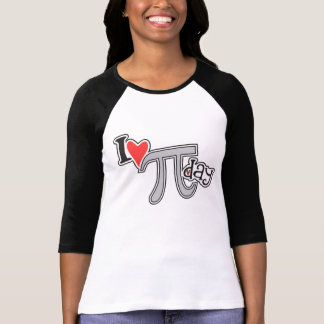 I heart Pi Day - Cool Pi Apparel Gift T Shirt
