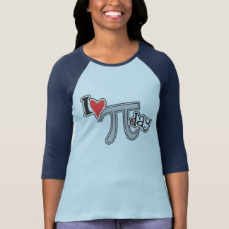 I heart Pi Day TShirt - Cool Pi Apparel Gift