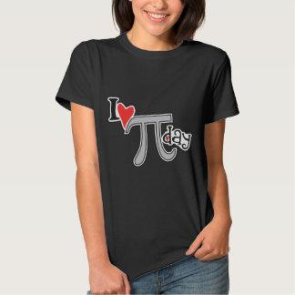 I heart Pi Day TShirts - Pi Symbol Gift