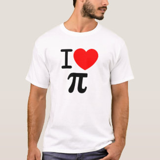 I (Heart) Pi T-Shirt