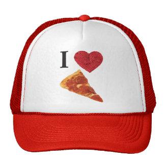 i heart pizza cap