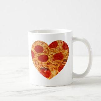 I Heart Pizza Coffee Mug