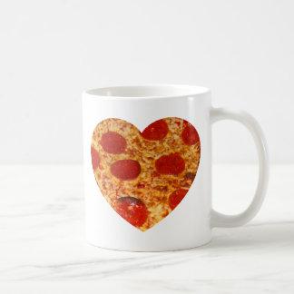 I Heart Pizza Coffee Mug