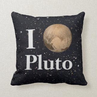 I Heart Pluto Starry Sky Cushion