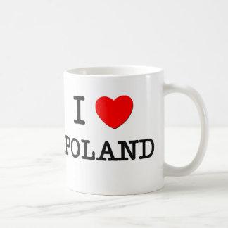 I HEART POLAND COFFEE MUG