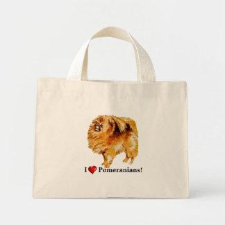 I Heart Pomeranians Bag