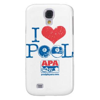 I Heart Pool Galaxy S4 Case