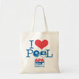 I Heart Pool Tote Bag