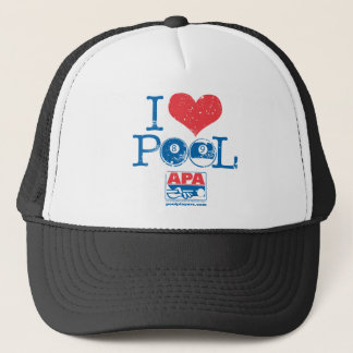 I Heart Pool Trucker Hat