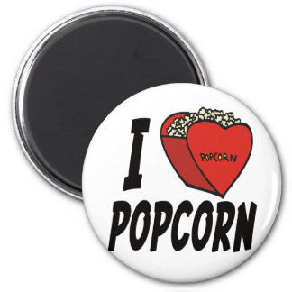 I Heart Popcorn T-shirts and Gifts Magnets
