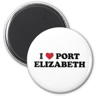 I Heart Port Elizabeth South Africa Fridge Magnets