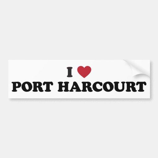 I Heart Port Harcourt Nigeria Bumper Stickers